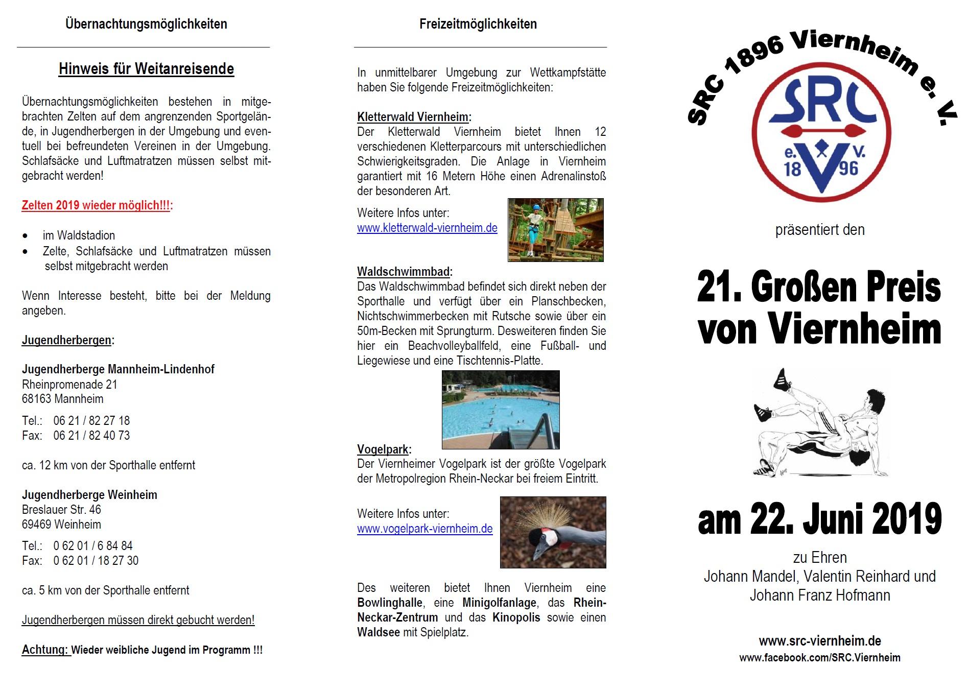 Flyer Großer Preis von Viernheim 2019 Stand 2018.11.21 Seite1