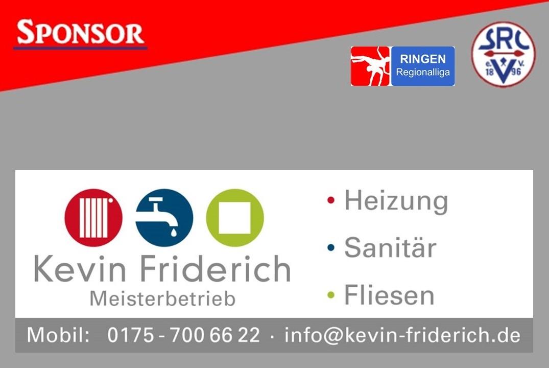 Friderich Sanitaer Sponsoren Präsentation 1