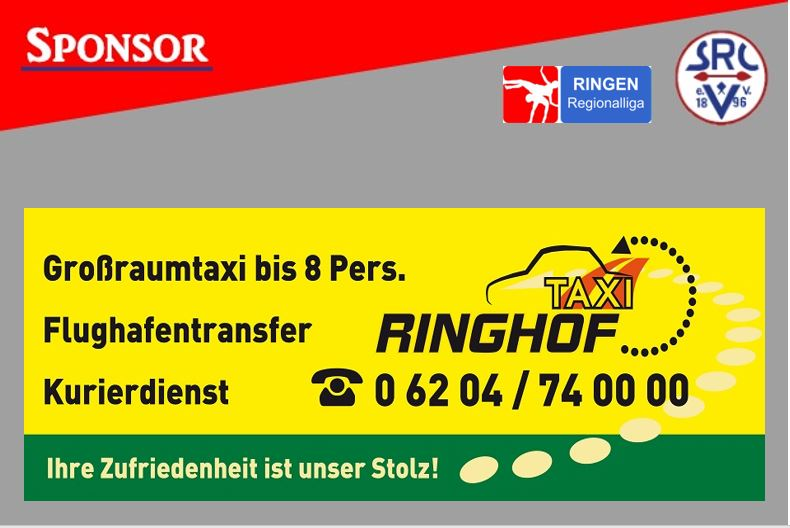 Sponsor TaxiRinghof